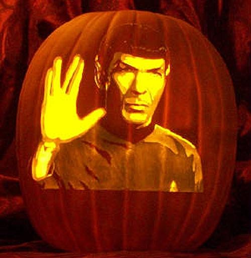 Spock LLAP Pumpkin Carving