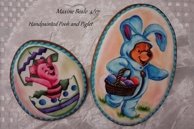 Winnie the Pooh Easter Cookies