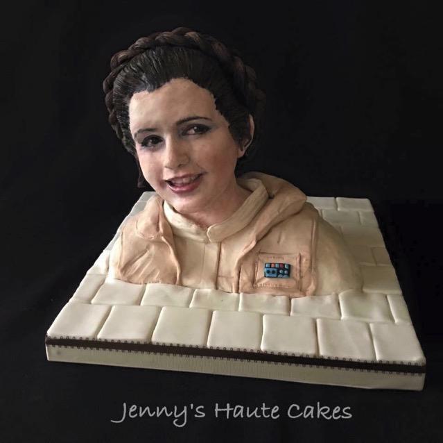 Princess Leia Cake