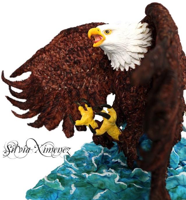 Bald Eagle Cake