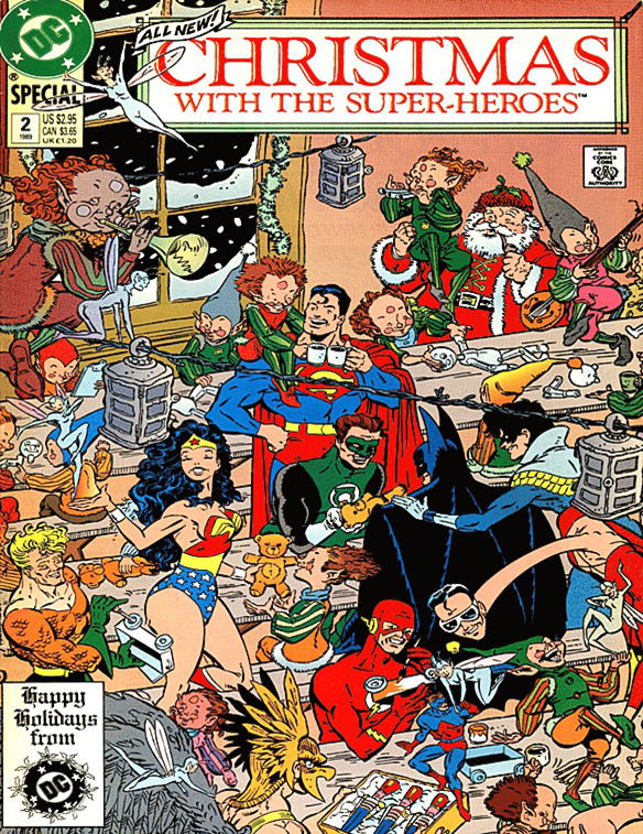 Christmas With The Superheroes #2