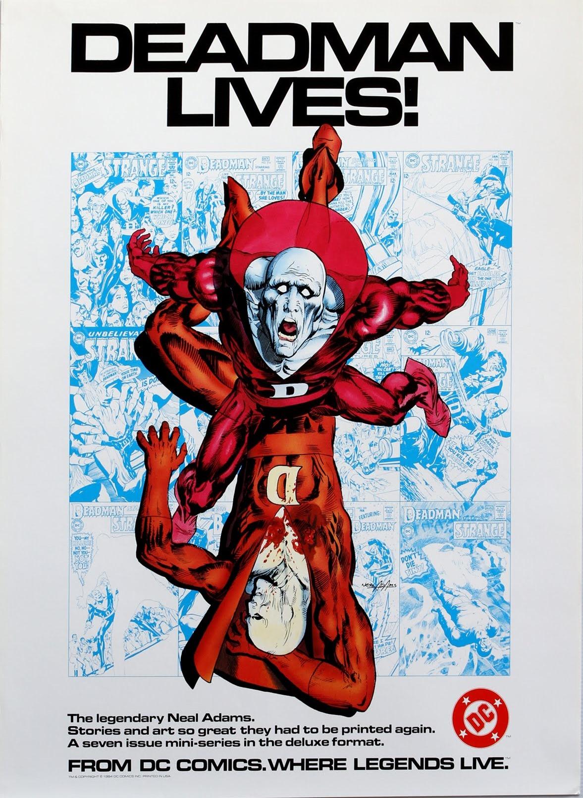 Deadman by Neal Adams