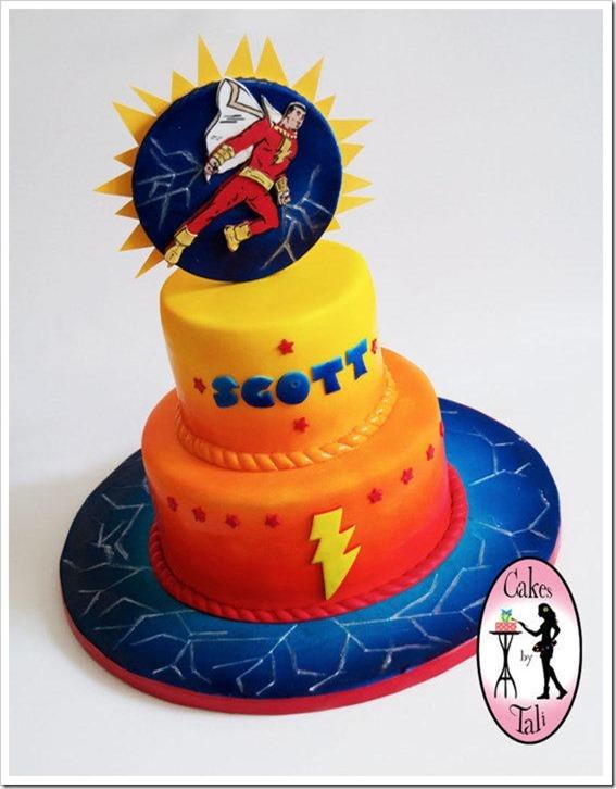 Captain Marvel Cake