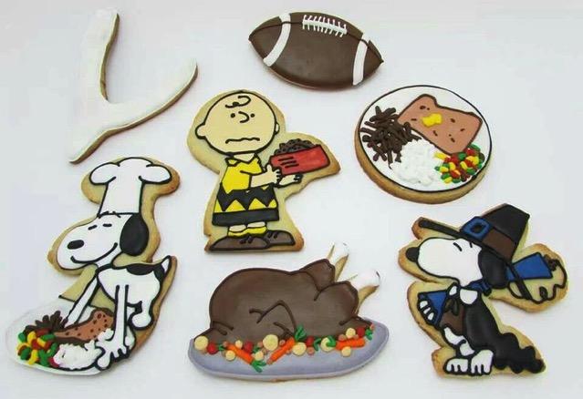 Charlie Brown Thanksgiving Cookies