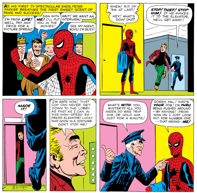 Spider-Man Fails To Stop Burgular