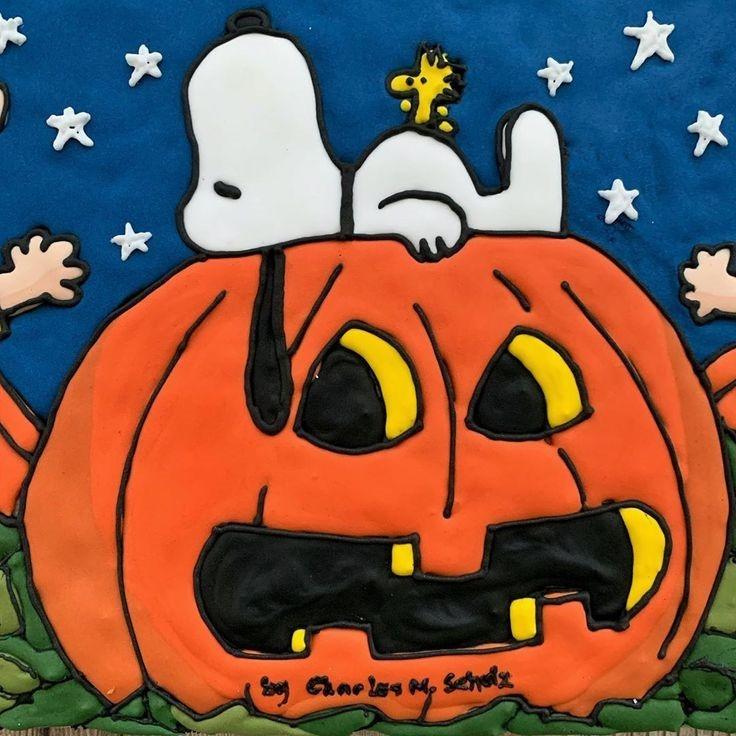 Charlie Brown Halloween Cookie