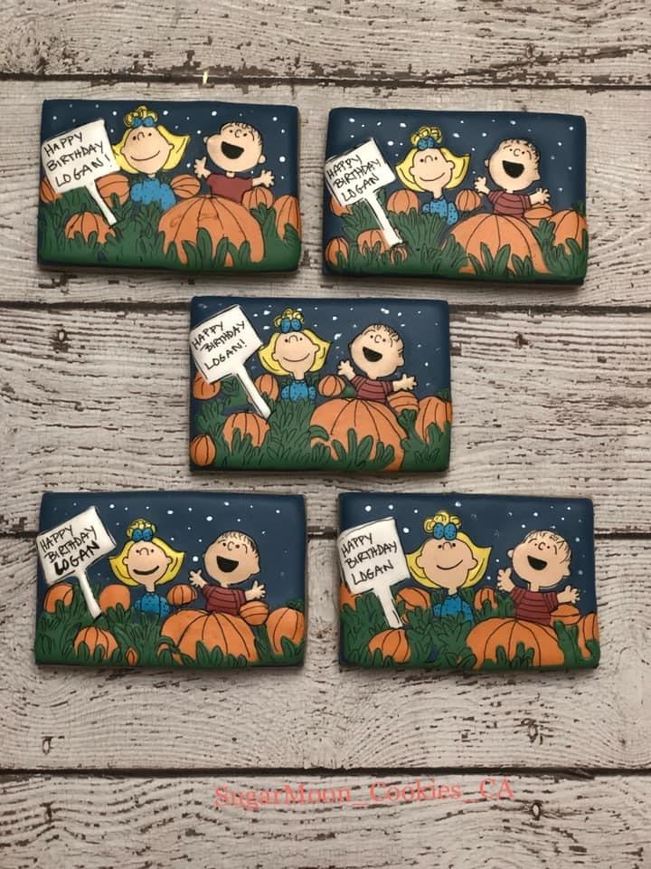 Charlie Brown Halloween Cookies 2