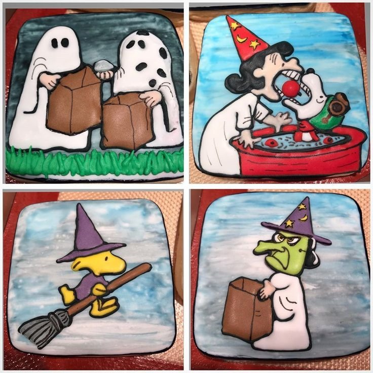 Charlie Brown Halloween Cookies