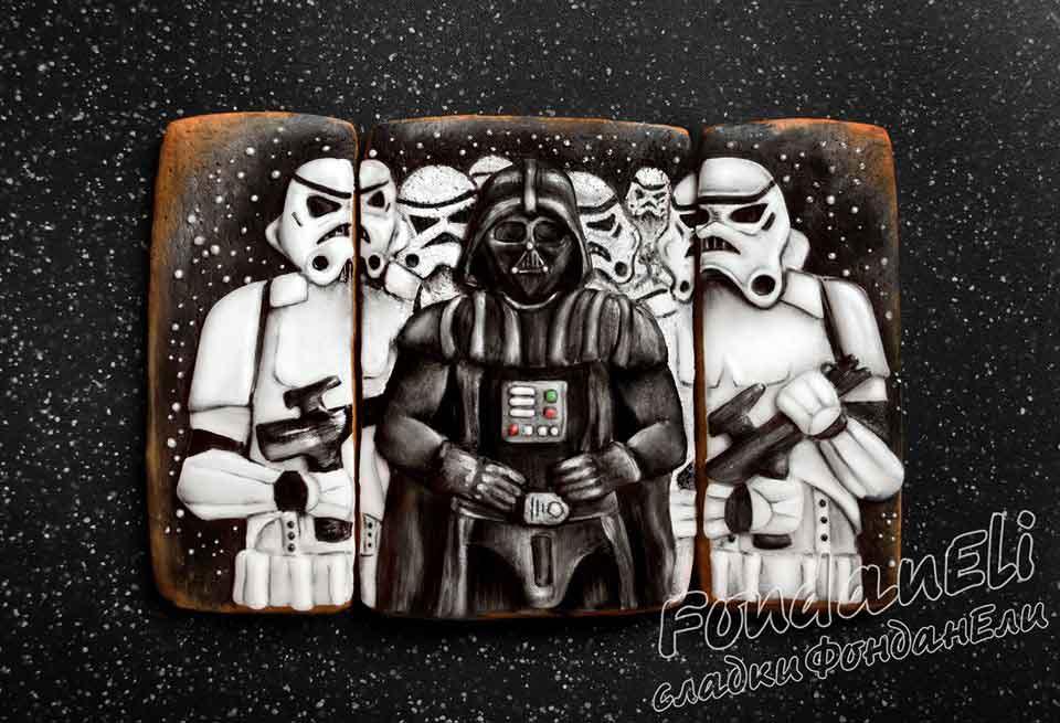 Darth Vader Cookie