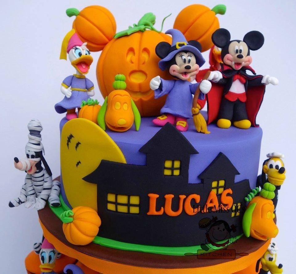 Disney Halloween Cake