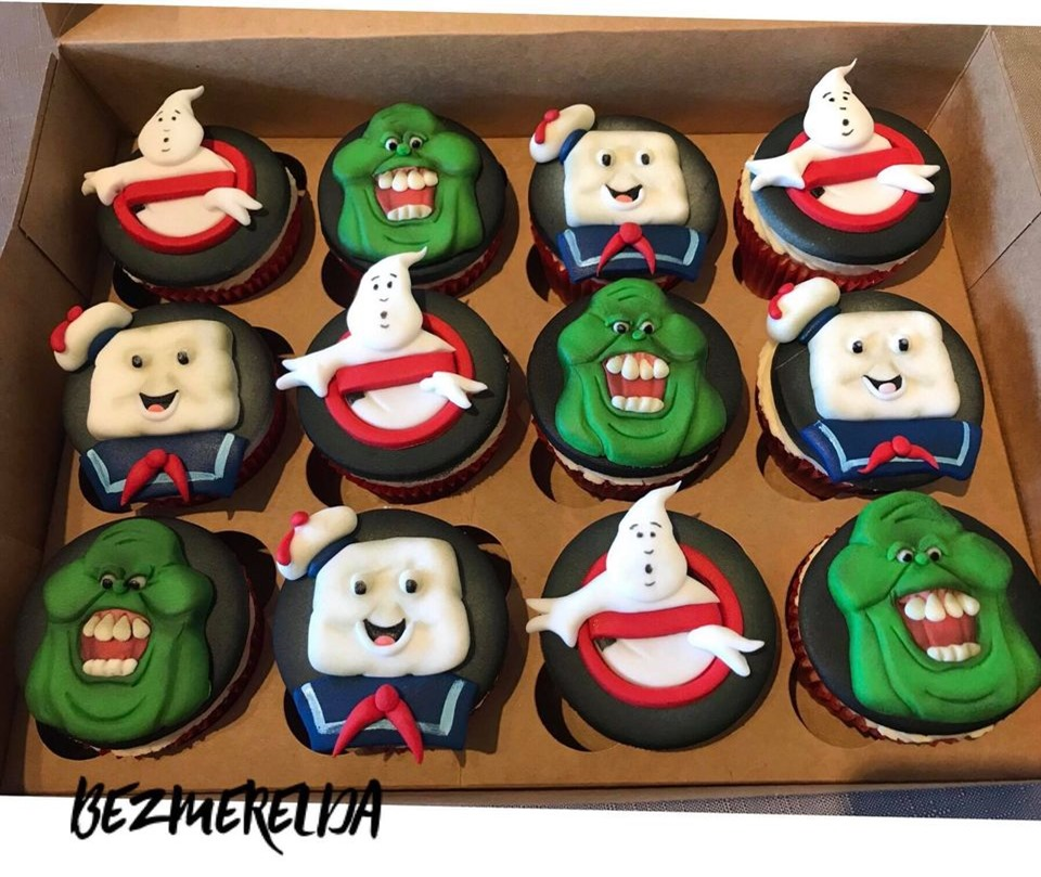 Ghostbuster Cupcakes