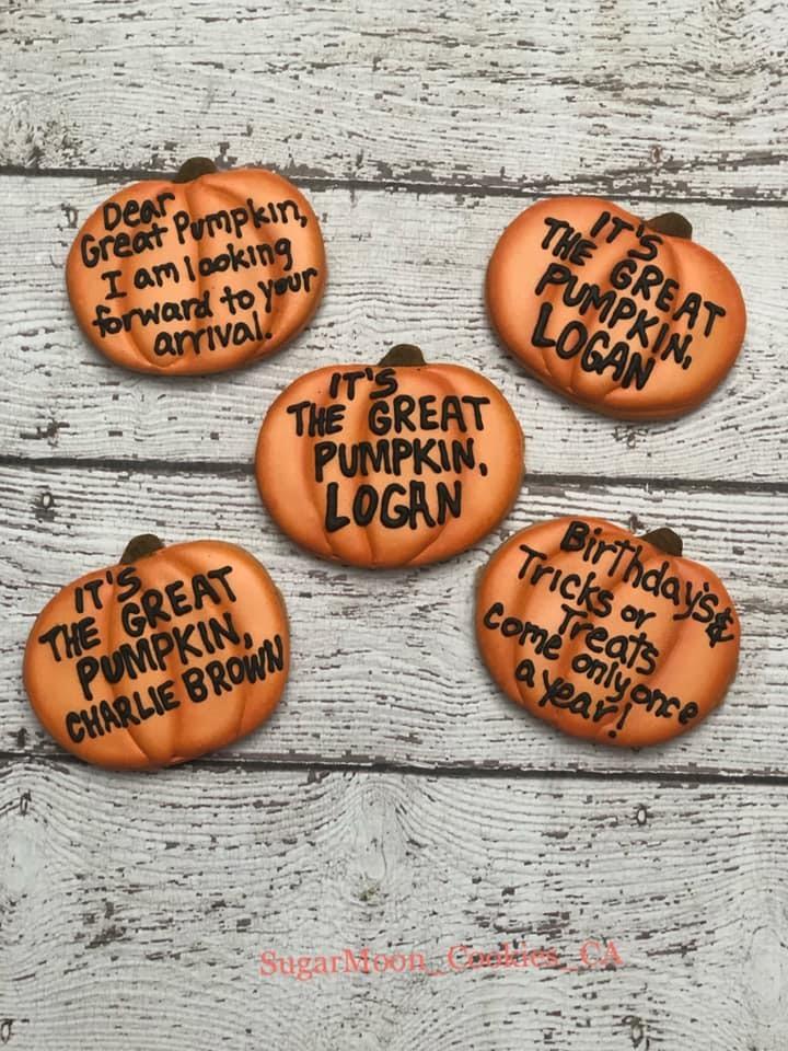 Great Pumpkin Cookies 2
