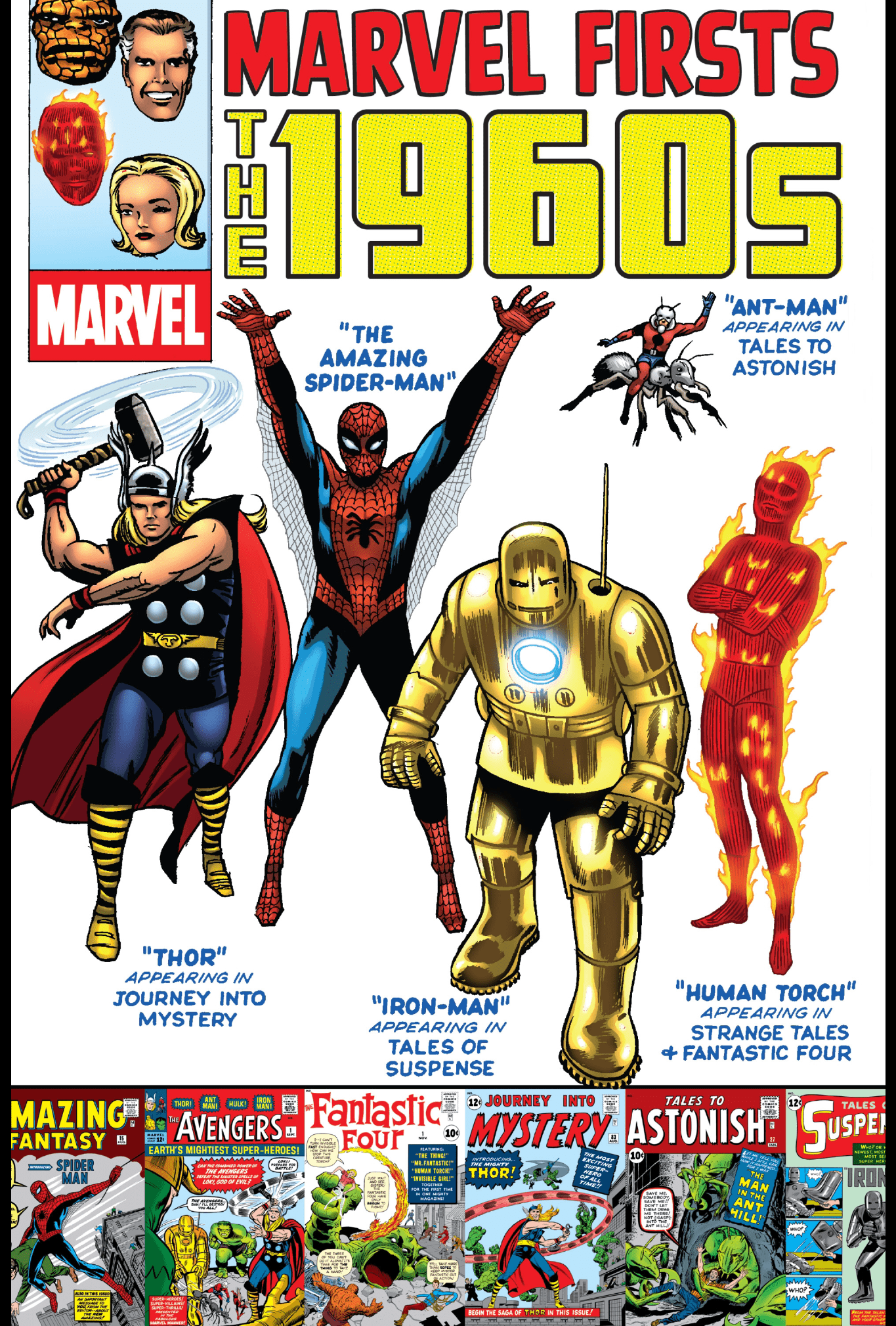 Marvel Firsts - The 1960s