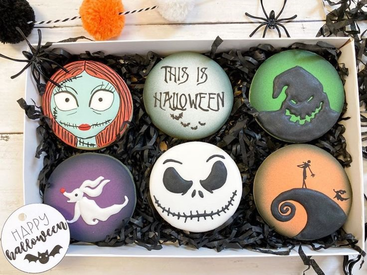 Nightmare Before Christmas Cookie Box