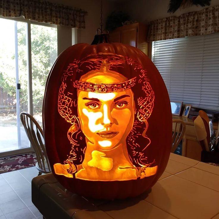 Padmé Amidala Pumpkin