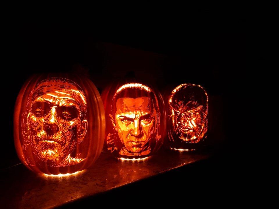 Universal Monsters Pumpkins