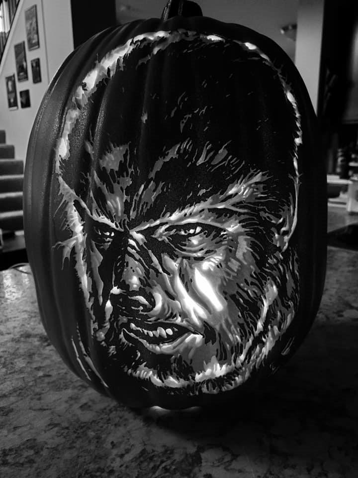 Wolfman Pumpkin