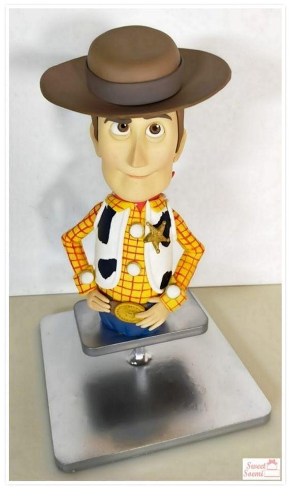 Sheriff Woody Cake