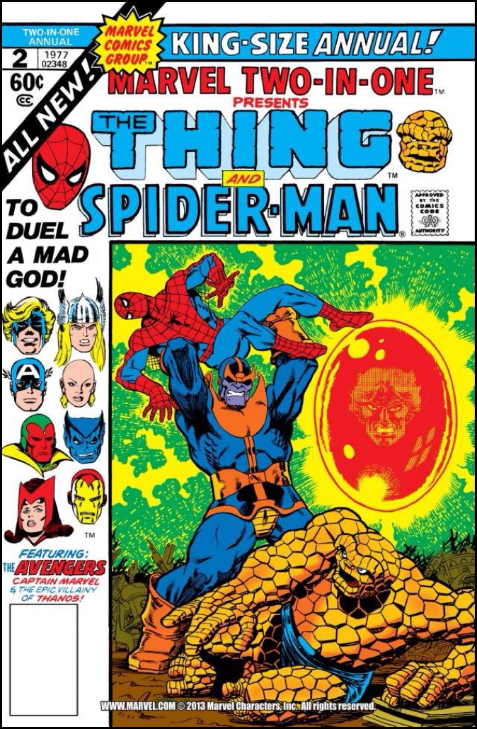 Marvel Two-In-One Annual 2