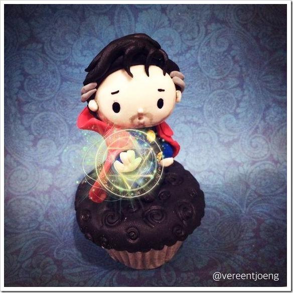 Doctor Strange Cupcake