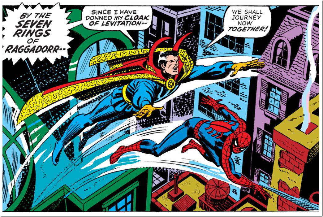 Doctor Strange by John Romita