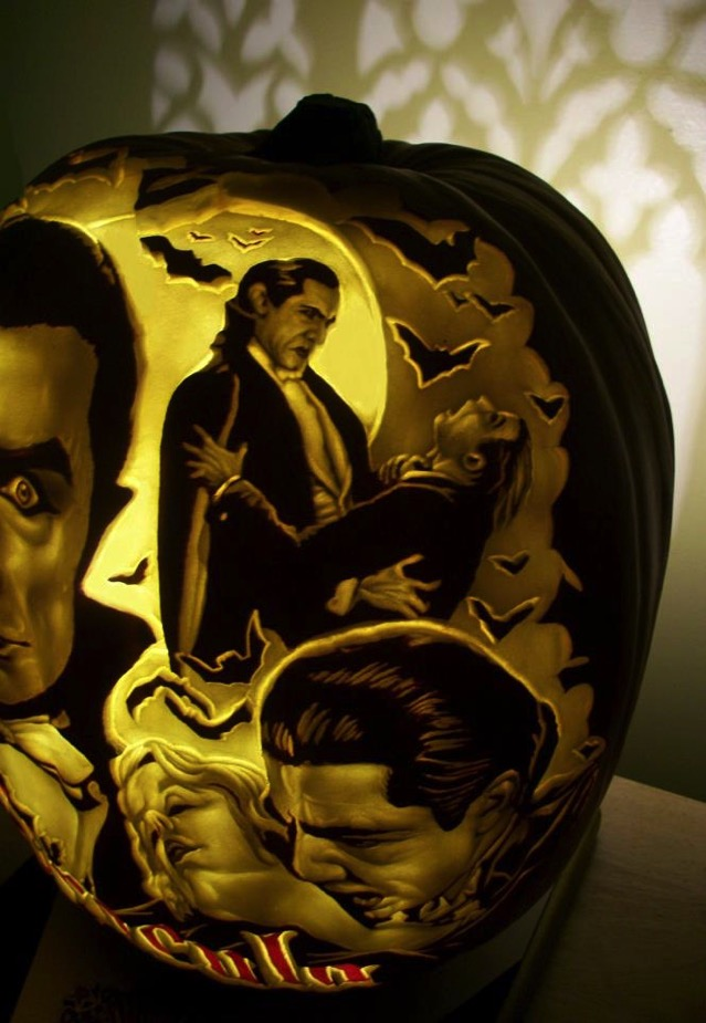 Count Dracula Pumpkin Carving