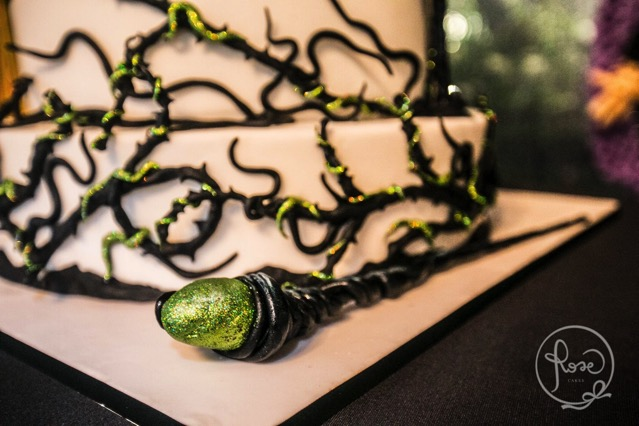 Maleficent Birthday Cake