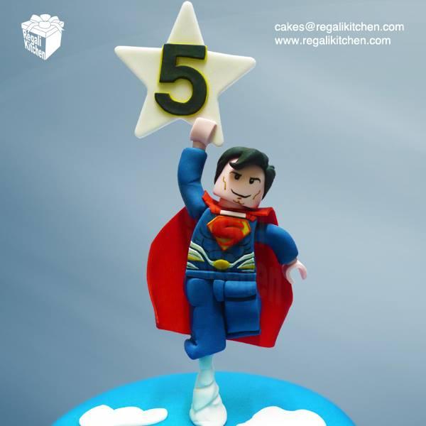 LEGO Superman Cake Topper