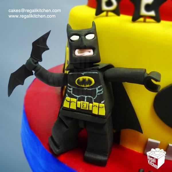 LEGO Batman Cake Topper