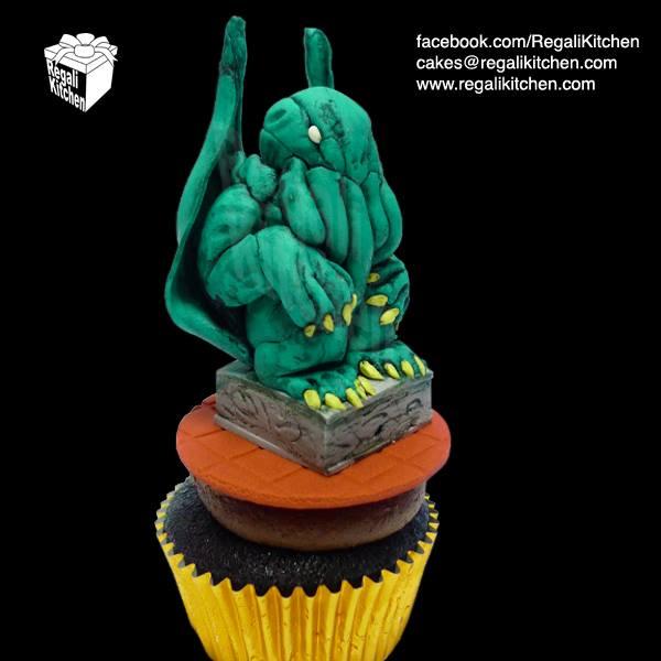 Cthulhu Cupcake
