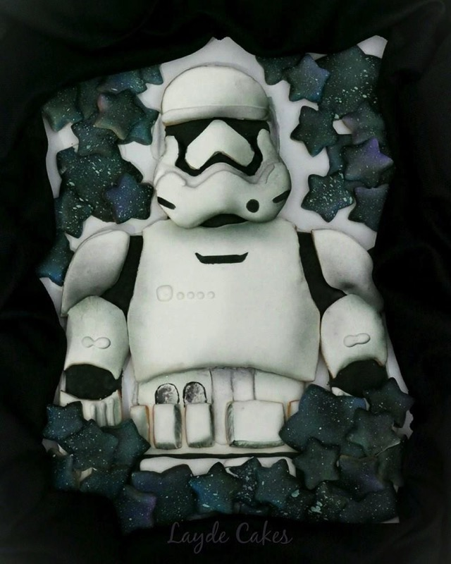 Stormtrooper cookies