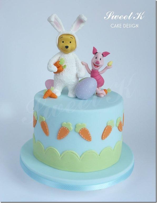 Winnie the Pooh Easter Cake