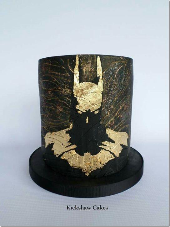 Batman Silhouette Cake