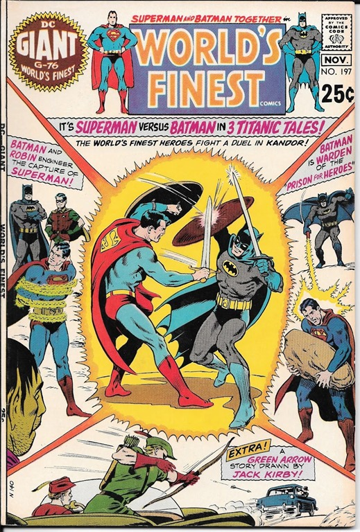 Batman vs. Superman's Silver Age Smackdowns