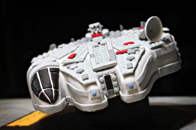 LEGO Millennium Falcon Cake