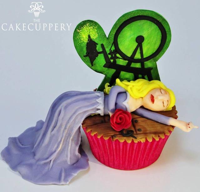 Princess Aurora Cupcake