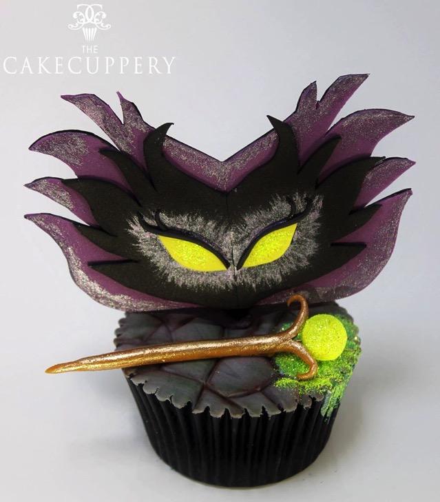 Meleficent Cupcake
