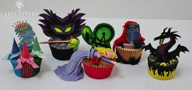 Sleeping Beauty Cupcakes