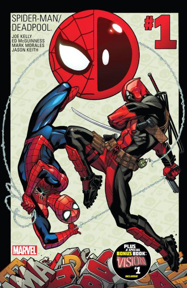 Spiderman Deadpool Comic Cover