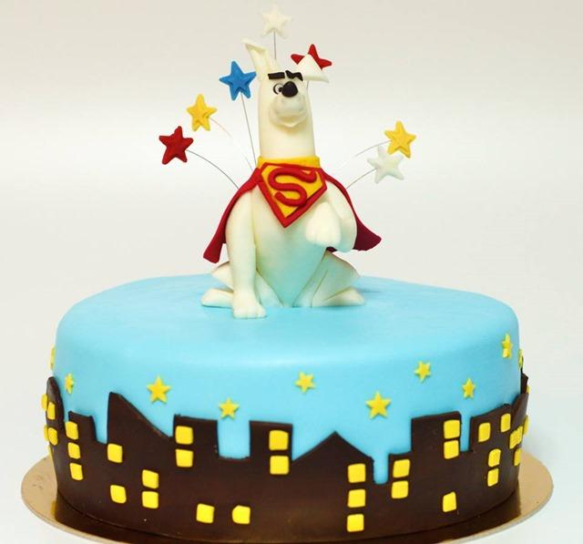 Krypto The Superdog Cake
