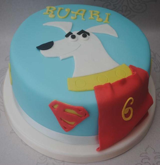 Krypto 6th Birthday Cake