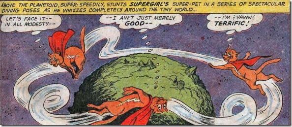 Streaky the Supercat in action