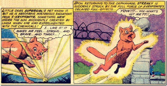 Streaky Becomes Super-Cat