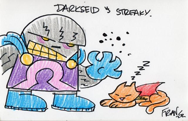 Darkseid vs. Streaky