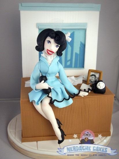 Lois Lane Cake