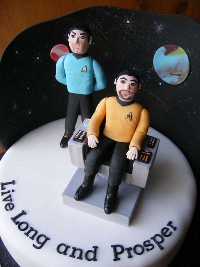 Star Trek 40th Birthday Cake