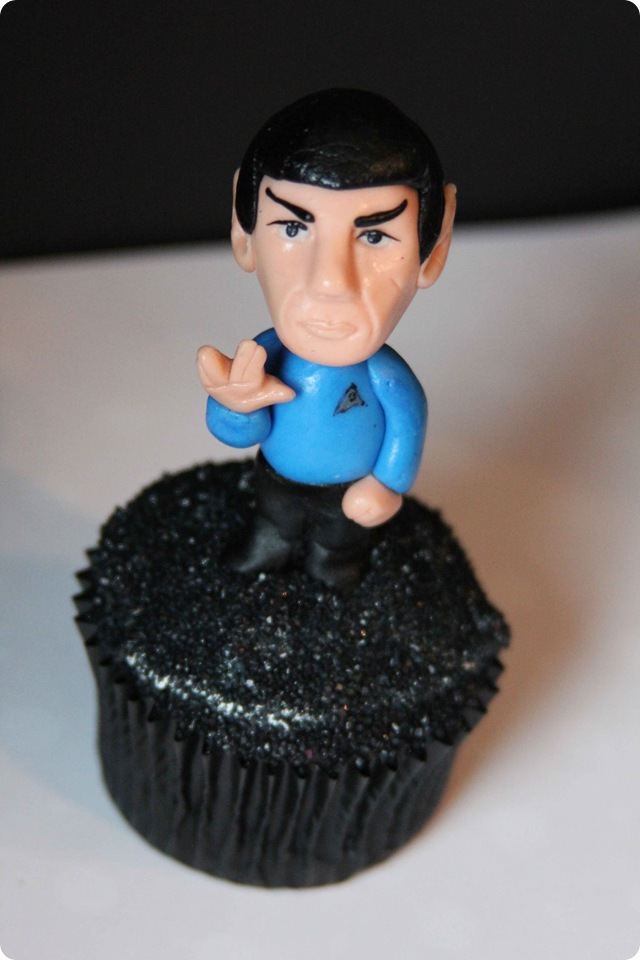 Spock Cupcake