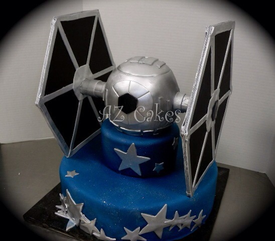 TIE Fighter Cake