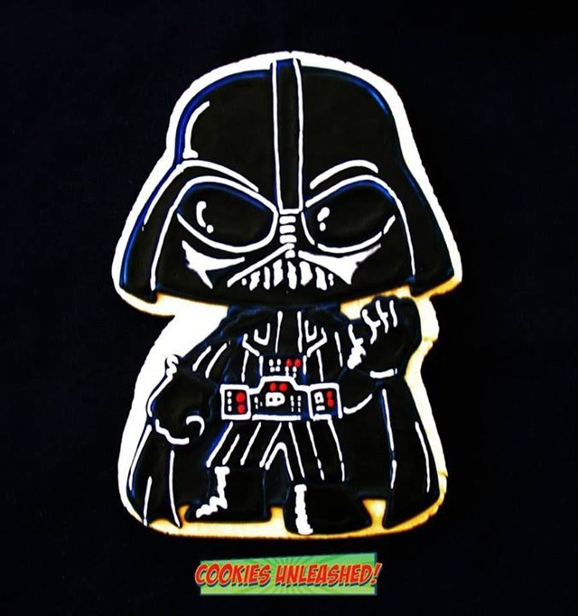 Darth Vader Cookie