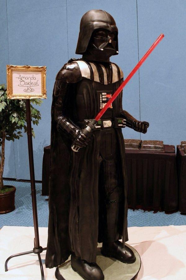Life-Sized Darth Vader Cake